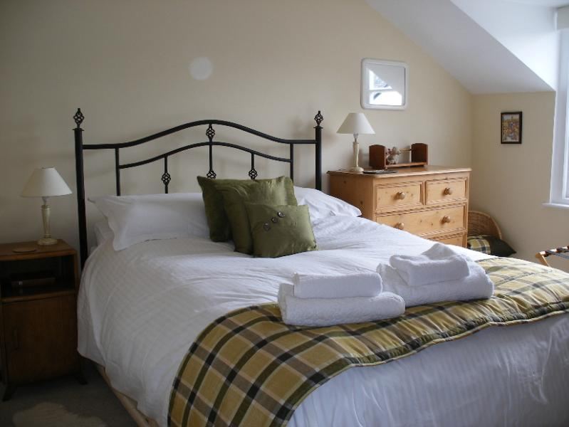 Second floor double bedroom with views over Whitcliffe Common