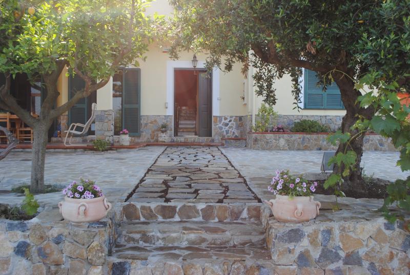 portico e ingresso