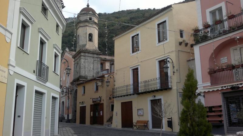 Characteristic apartment in the picturesque square of Maratea Buraglia Old Town.