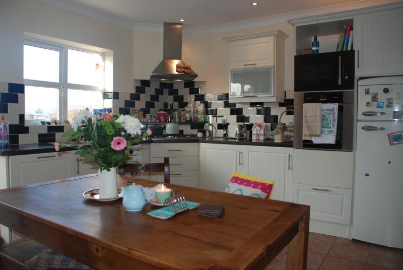 Art Deco inspired kitchen