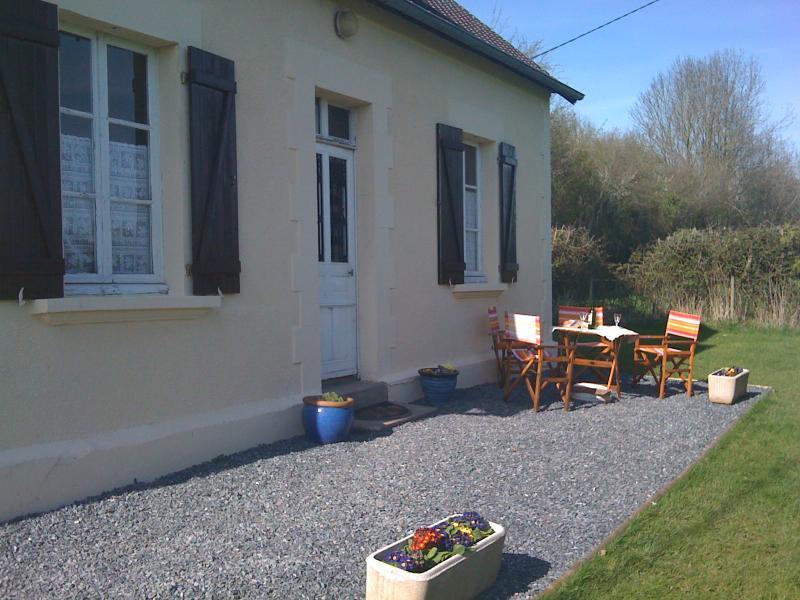 Garden side of cottage