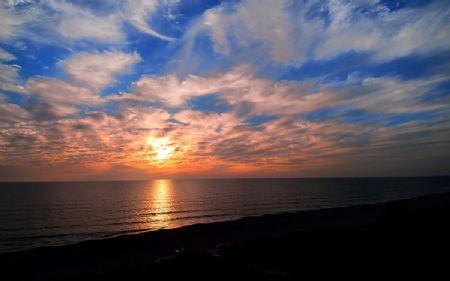 Sunset on Beach!