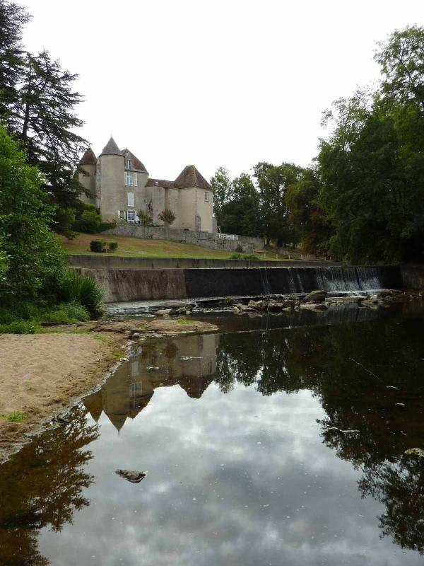 Our local Chateau Rivière- just a short hike from the village & an ideal picnic spot in summer