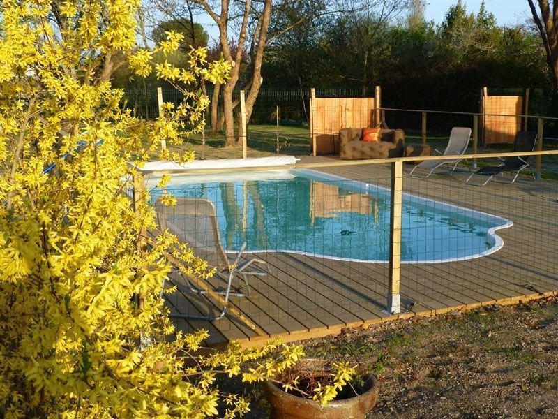 La piscine à usage privé