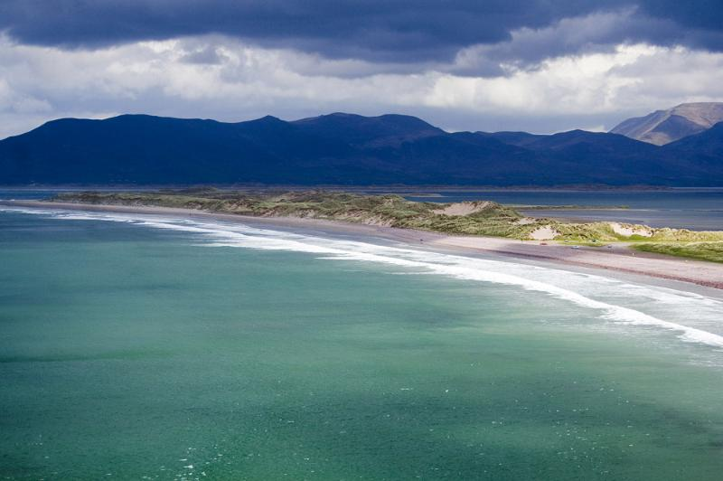 Climb the mountain over Rossbeigh & paraglide down! Location of the Celtic Folklore Tir Na Nog