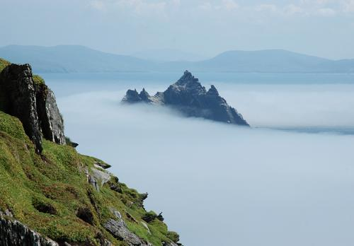 Visit Skellig Michael, a rock that was home to Christian Monks in the 6th Century