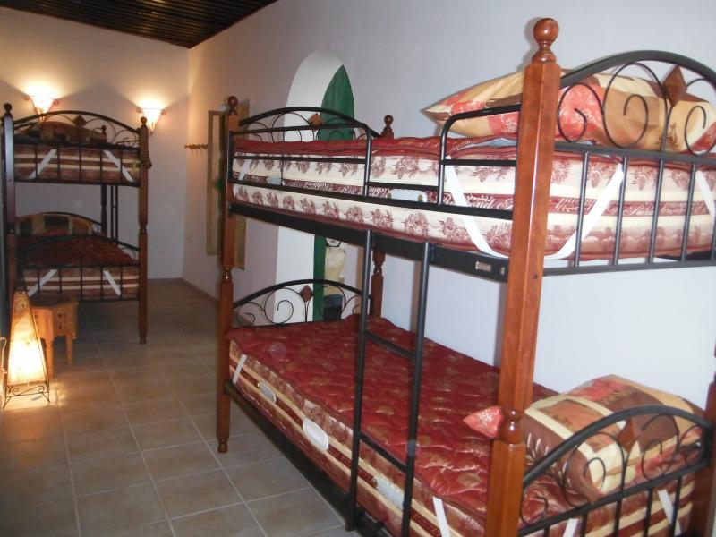 Chambre Safar - 2 lits superposés - Rez-de-chaussée