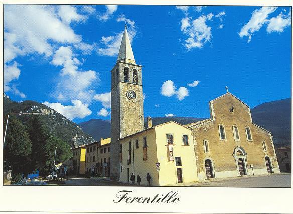The delightful village of Ferentillo is a five-minute drive