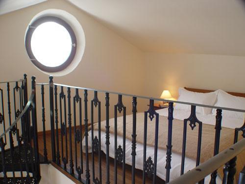 La mezzanine Suite Wolf - ce qui est par le biais de la fenêtre ronde ?