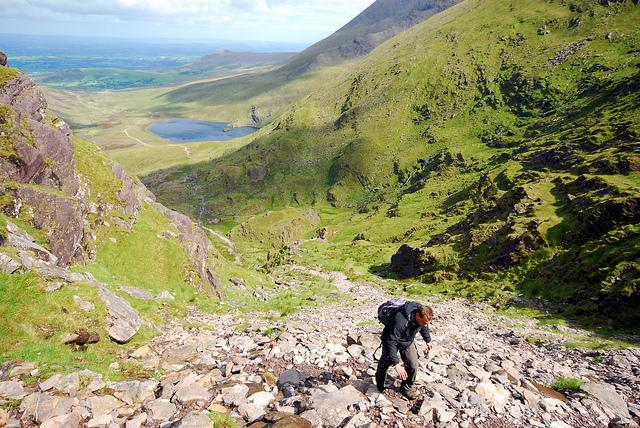 View the Kingdom of Kerry from Irelands highest mountain, Carrauntoohil.  Guided climbs available!