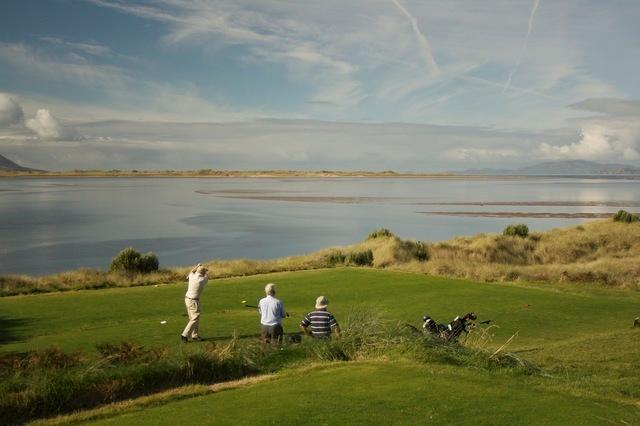The beautiful Dooks Golf Links, just a mile away.