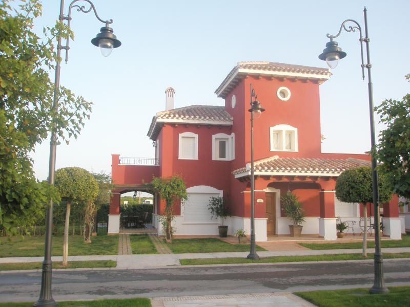 The Front View of the Villa
