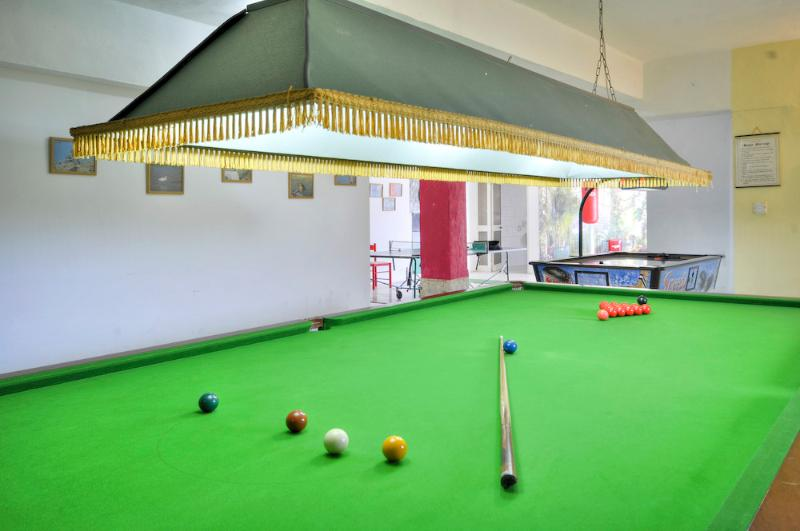Enjoy a game of snooker