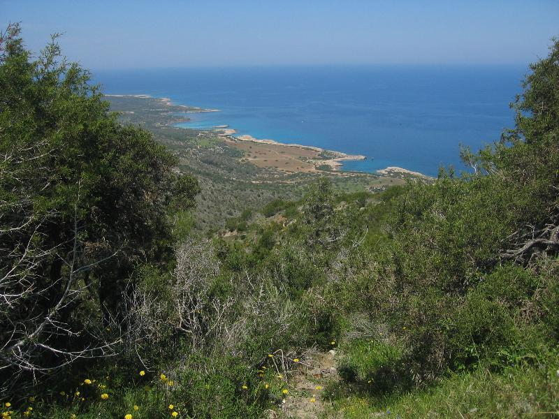 Walking in the Akamas Peninsula