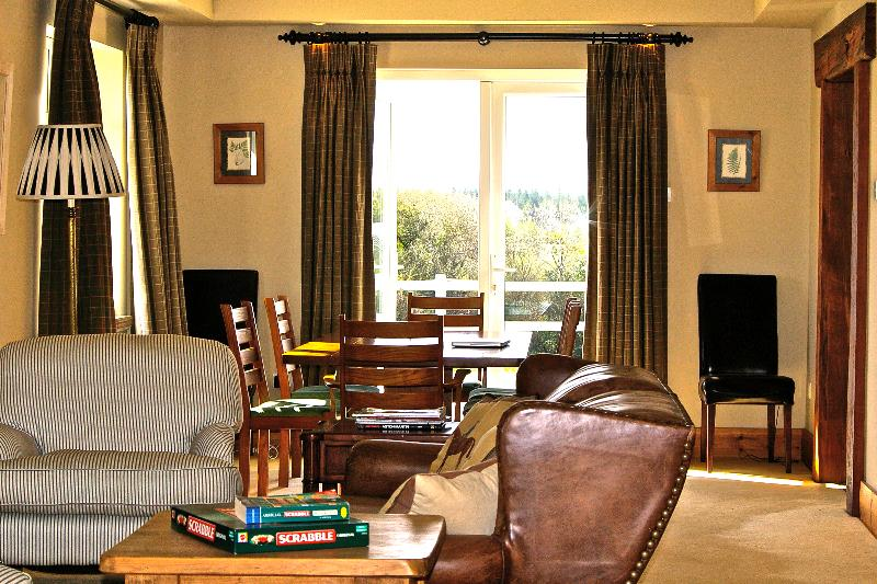 The main sitting room (facing the garden)