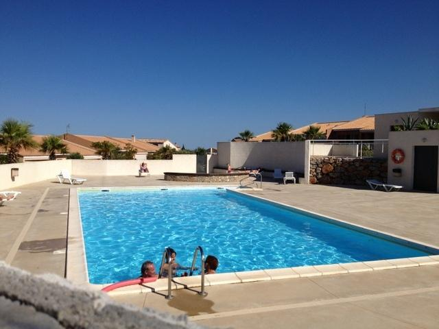 One of the 2 swimming pools available to guests, one is heated in Spring and Autumn