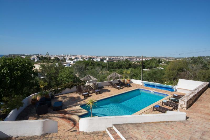 Stunning views from the terraces, garden and pool - all offering total privacy