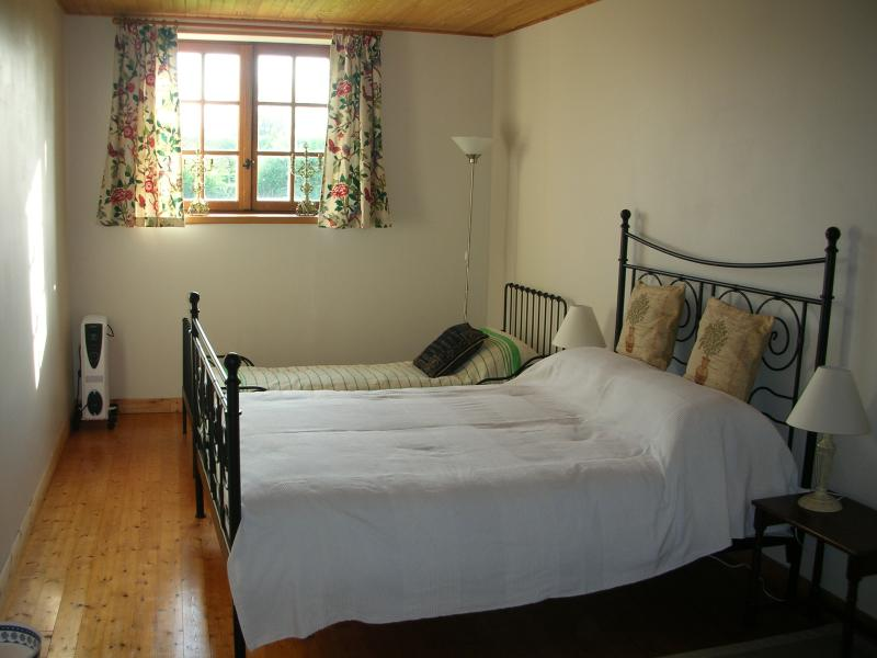 Double bedroom with old French single bed