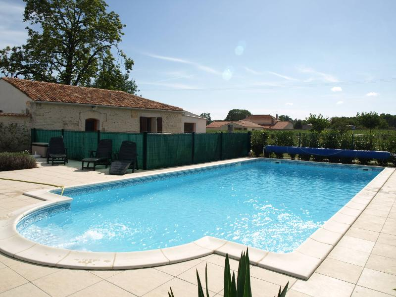 Gites de Brives - enjoy our large, inviting swimming pool