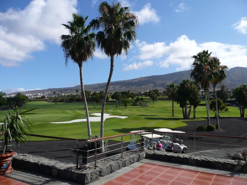 View from Adeje Golf Club