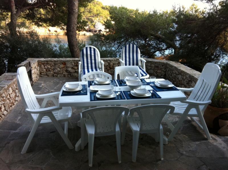 Essen & Trinken im privaten Terrasse