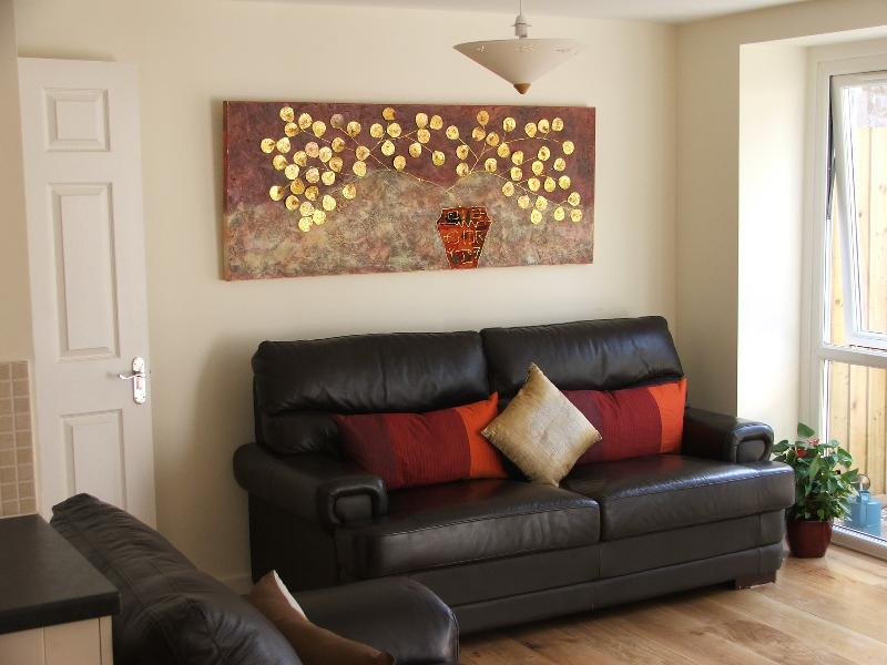 Living Room in The Wookey House
