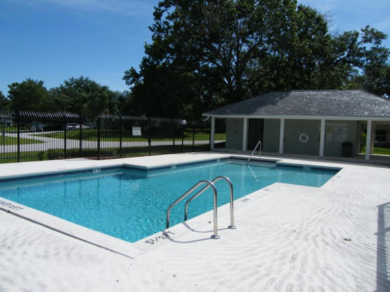 C'est la piscine communautaire