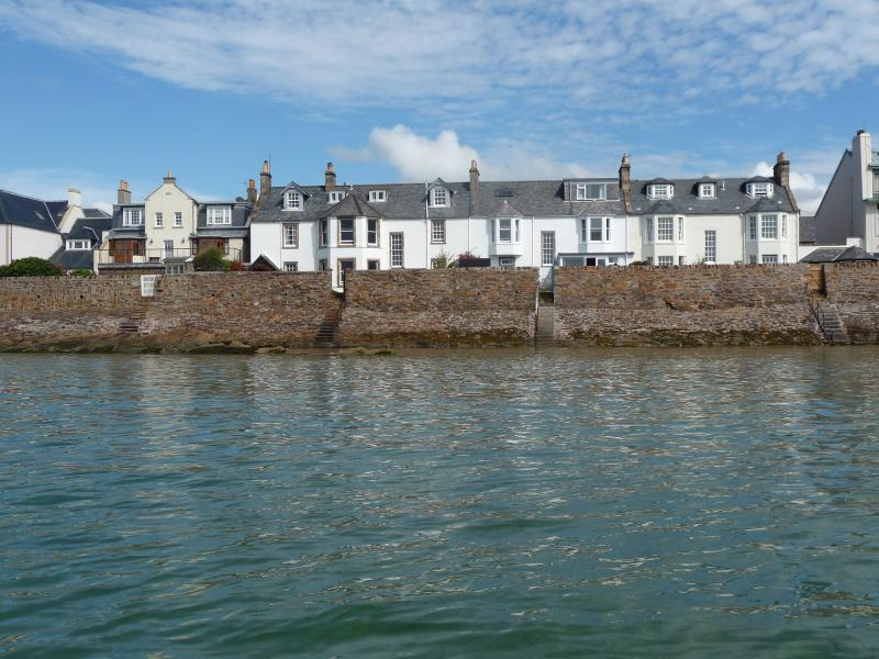 South Street, Elie, from the water