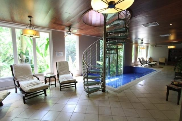 The relaxation room in the Casuarina Spa