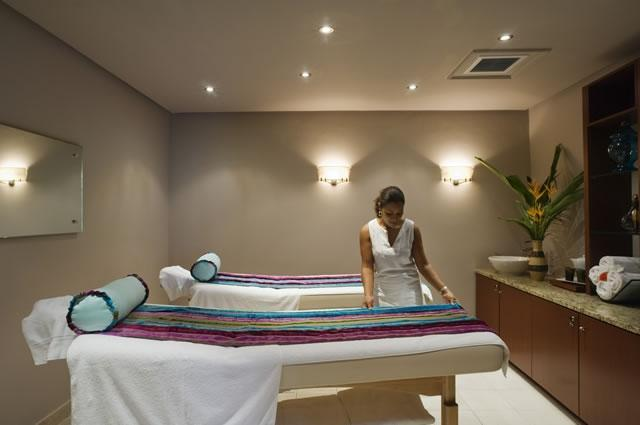 The Casuarina Spa treatment room for two