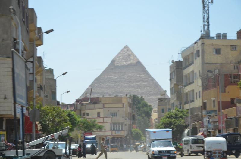 Fist sight of the pyramids