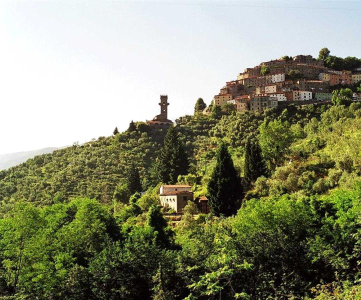 Il Rivo in foreground below Vellano