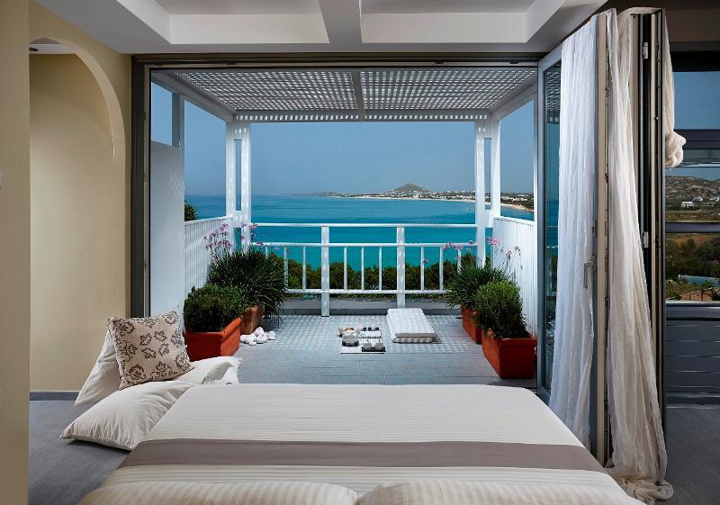 Honeymoon Suite with stunning sea view - Villa Paradise in Naxos, location de vacances à Naxos (ville)