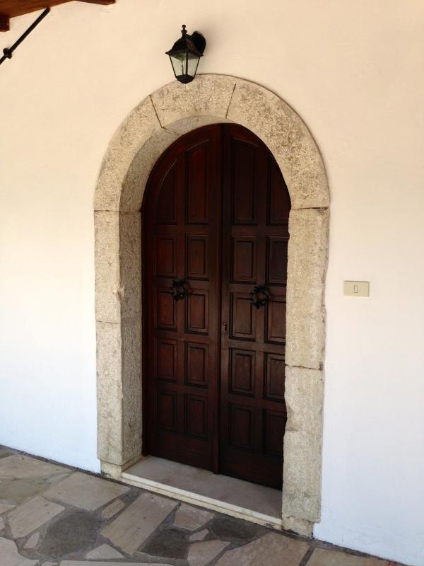 Entrance To Villa Sabatini