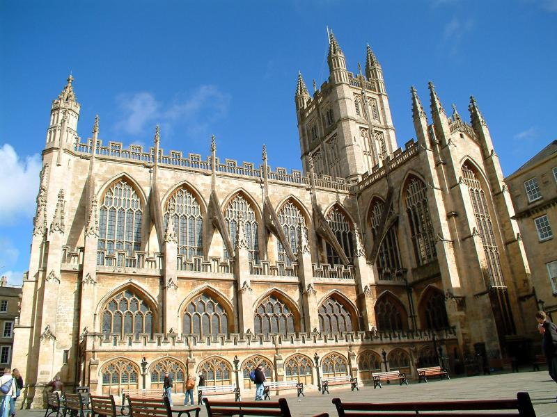 The Bath Abbey is only a couple of minutes' walk and has regular tours and services.