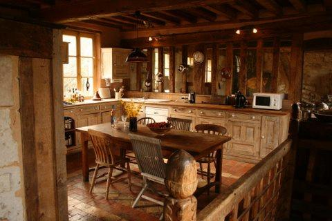 Convivial country kitchen