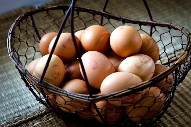 Free range eggs - produce of Stronchullin