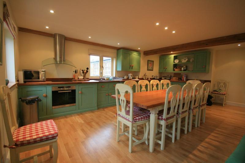 Vast kitchen