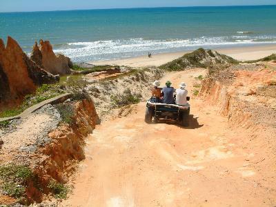 visite du labyrinthe de sable de toutes les couleurs