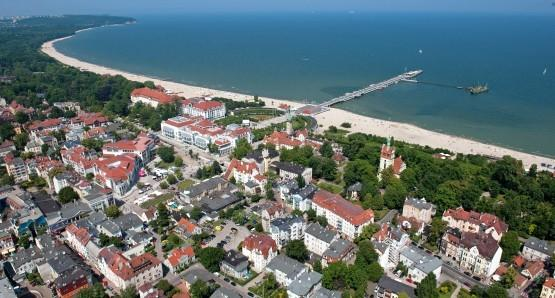 Sopot airview