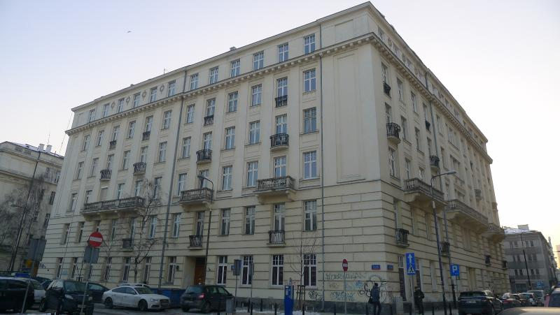 Voorgevel van gebouw gebouwd in 1905