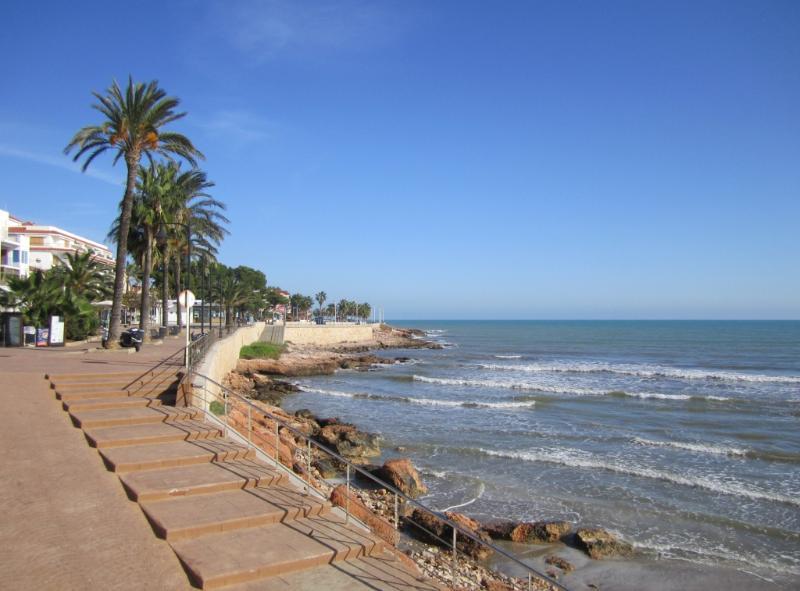Alcossebre Promenade and Sea