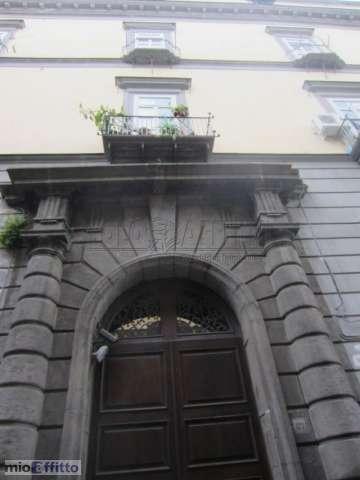 A entrada principal do edifício