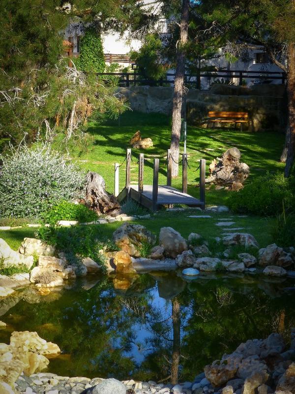 Communal gardens at Pine Bay