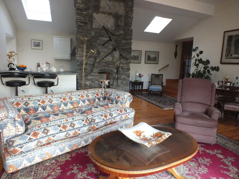 Very large sitting room/kitchen approx. 20 x 20. This leads off to the utility room.