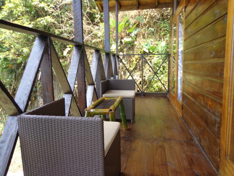 Enjoy a glass of wine and a relaxing afternoon on our spacious balcony.
