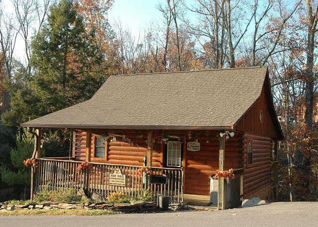 CHEROKEE NIGHTS #132- Outside View of the Cabin
