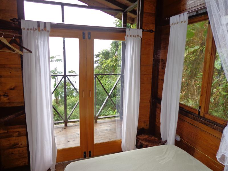 At La Vapeur, you don't have to get out of bed to enjoy beautiful views.