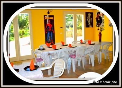 ROOM FOR BREAKFAST-DINNER ROOM UP TO 20 PEOPLE (VILLA BELVEDERE)