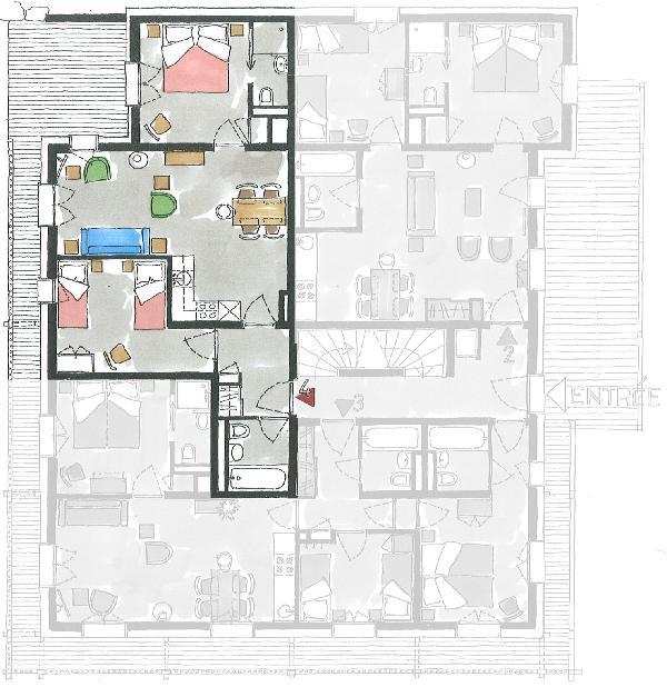 Apartment 4 - Floorplan